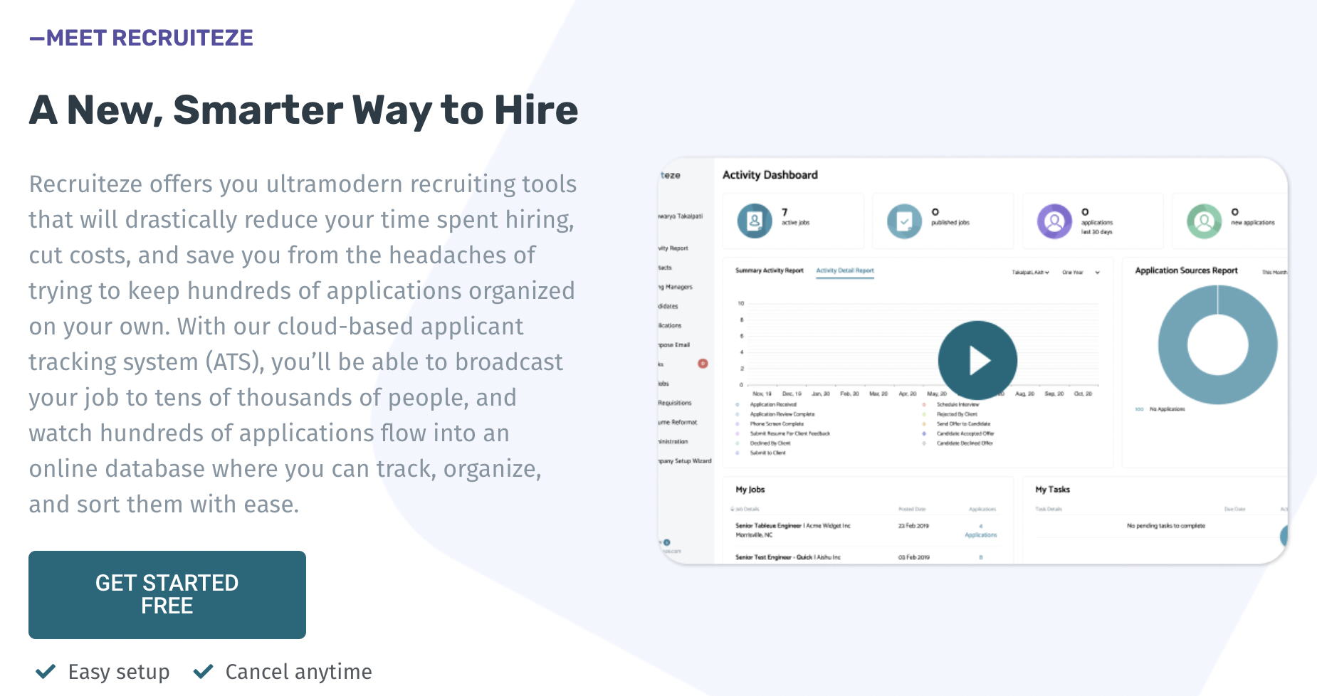 Recruiteze - benefits