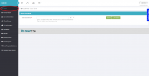 Recruiteze Applicant Tracking System - Database Search Feature