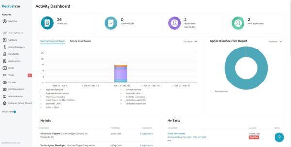 online job application software