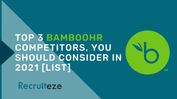 Top 3 BambooHR competitors - featured image