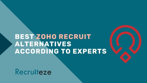 Best Zoho Recruit alternatives and competitors