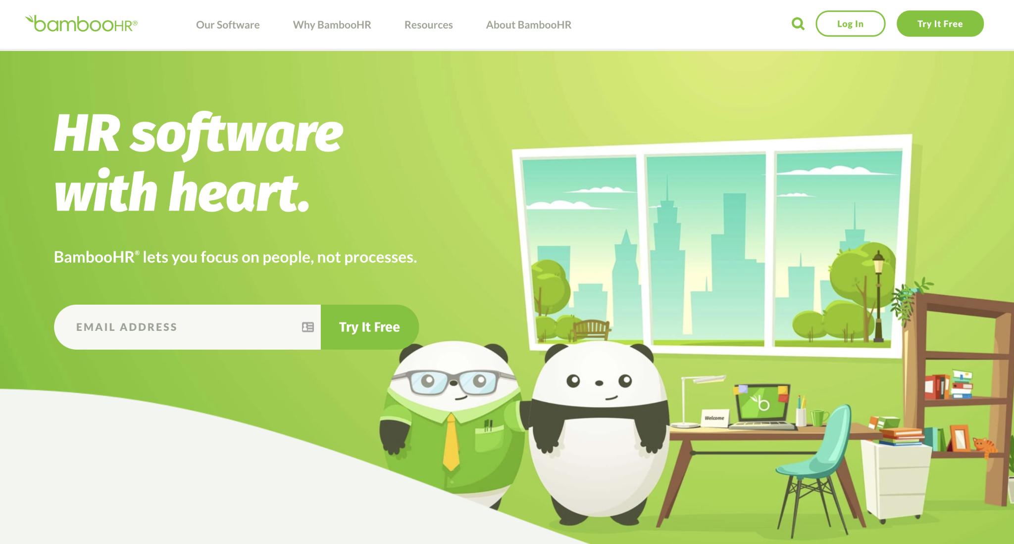 SmartRecruiters Competitor #4: BambooHR