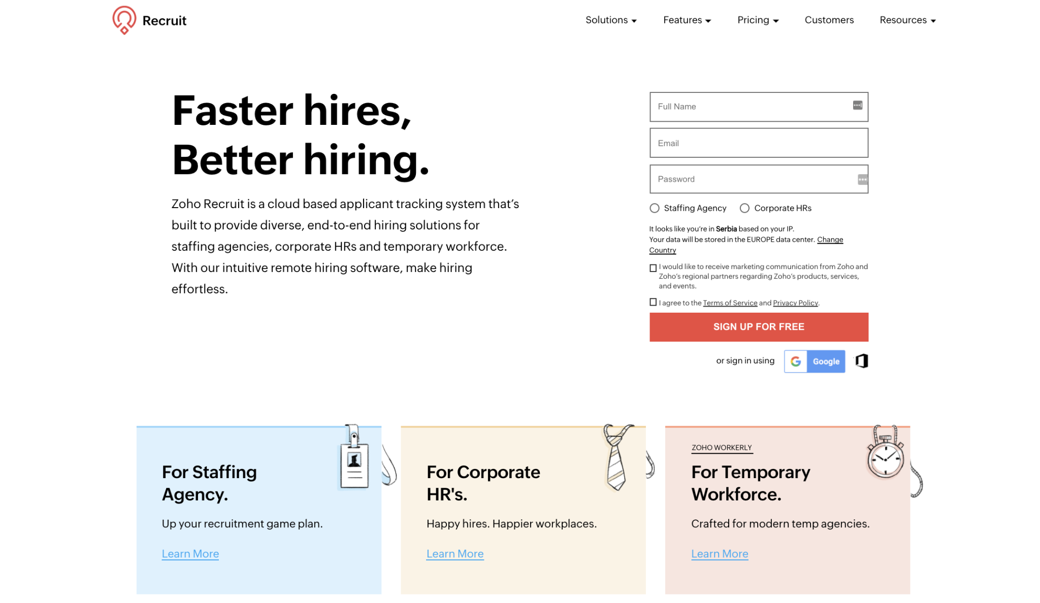 Zoho Recruit Competitors and Alternatives [Tested by Experts]