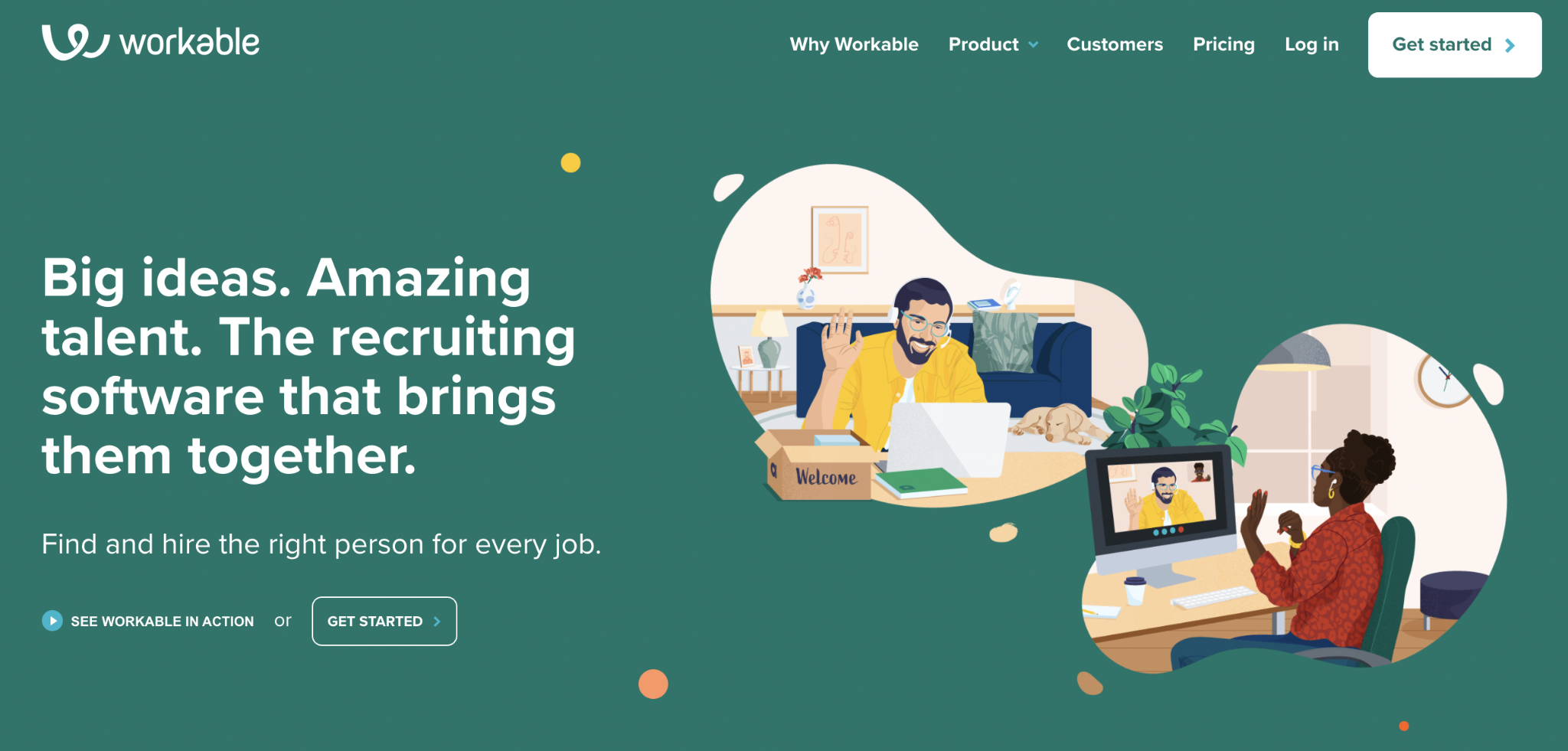 Zoho Recruit Competitor #3: Workable