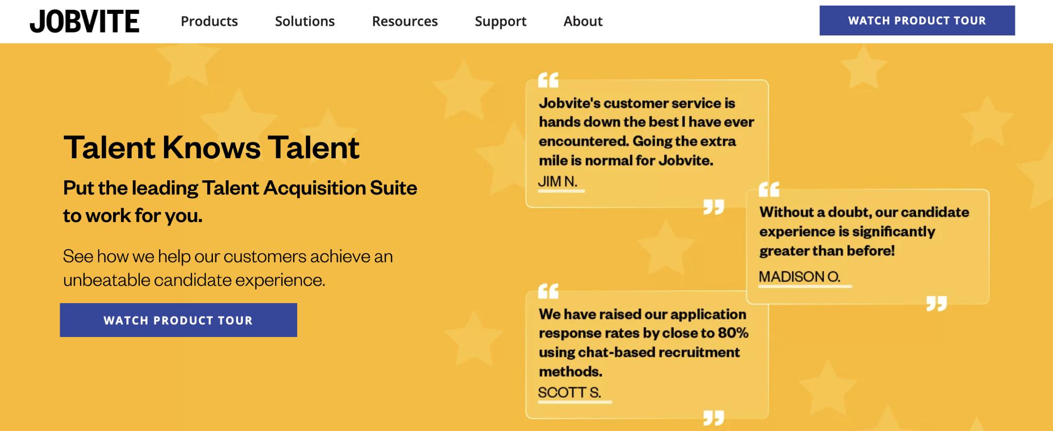 Recruiterbox Competitor #2: Jobvite