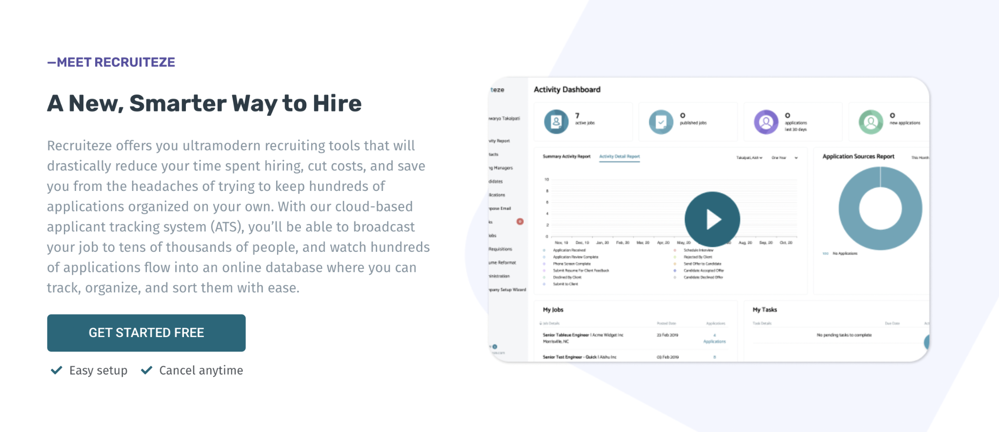 Online ATS For Small Business Hiring