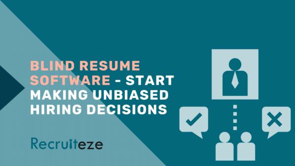 blind recruitment software